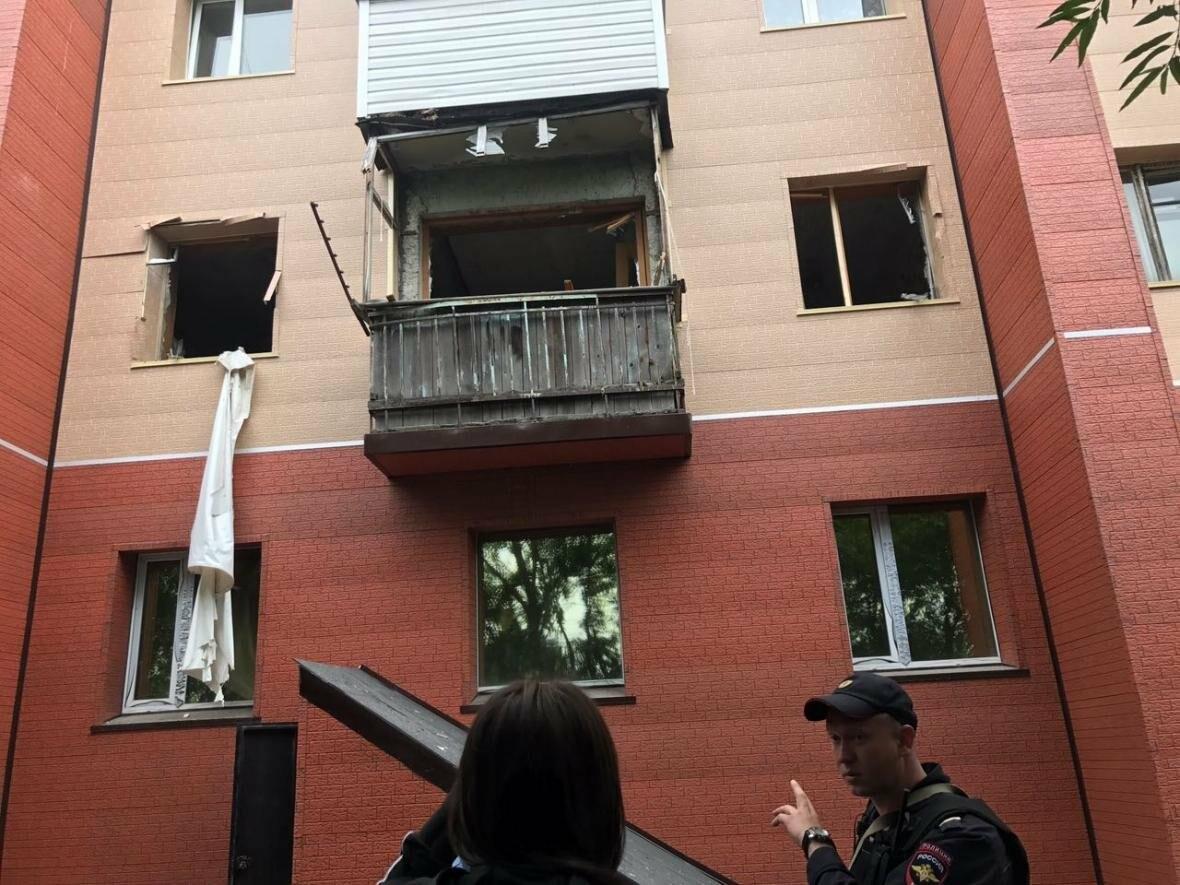 Выбиты окна и двери – взрыв прогремел в квартире на Арсеньева в Петропавловске, фото-3