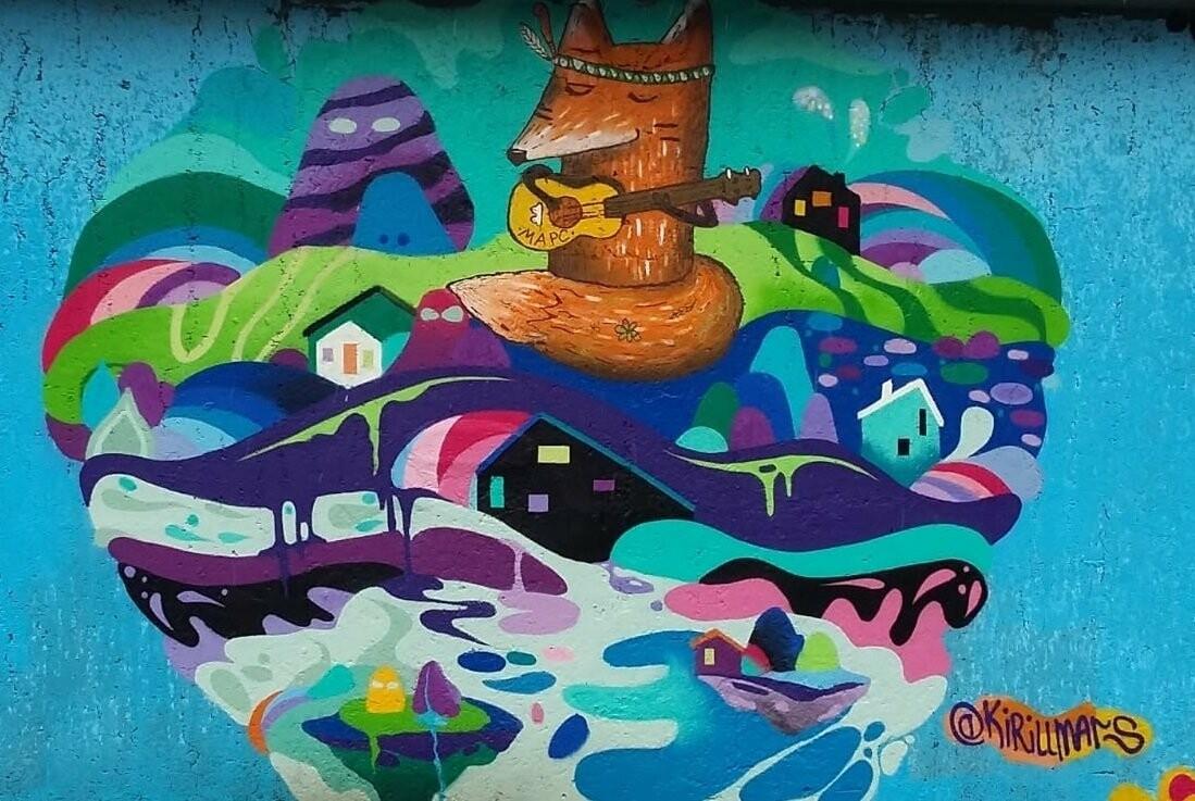 Лучших граффитчиков выбрали в Петропавловске, фото-5
