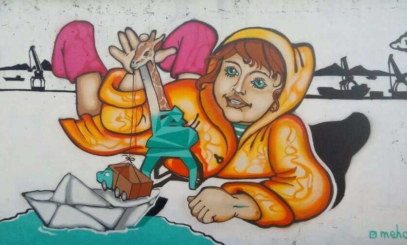 Лучших граффитчиков выбрали в Петропавловске, фото-1