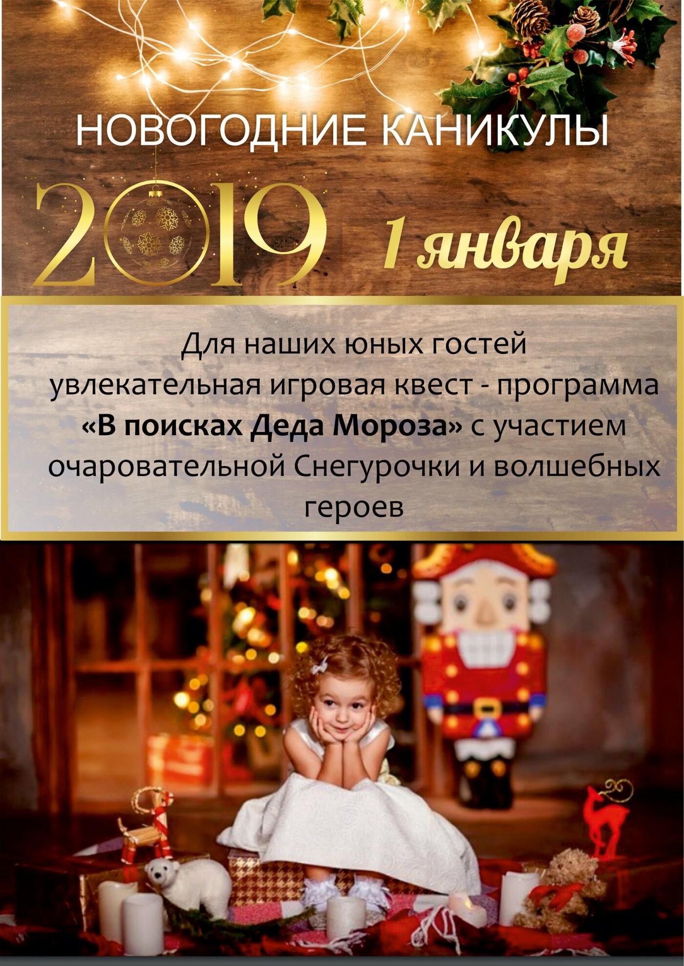Встречайте Новый год-2019 всей семьей в санатории «Айвазовское»!, фото-2