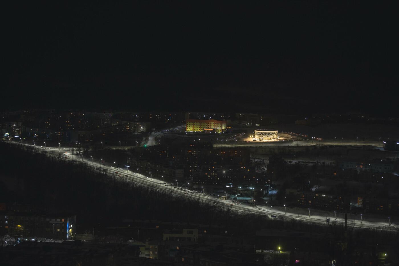 Камчатский Дворец бракосочетаний светится в темноте, фото-8
