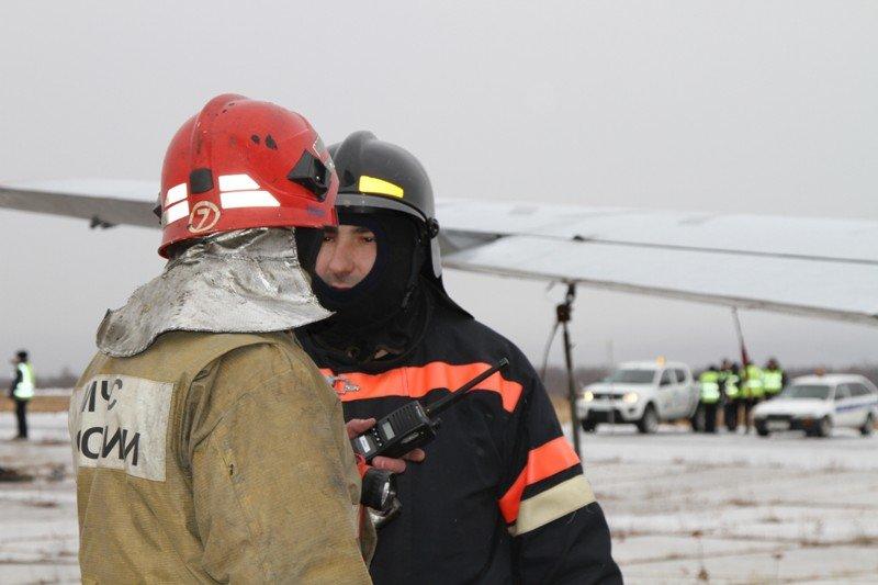 Камчатские спасатели тушили Як-40 в елизовском аэропорту - учения, фото-3