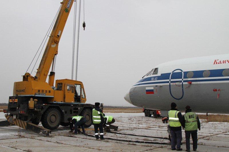 Камчатские спасатели тушили Як-40 в елизовском аэропорту - учения, фото-12