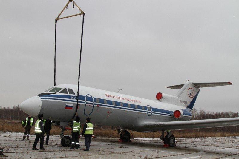 Камчатские спасатели тушили Як-40 в елизовском аэропорту - учения, фото-13