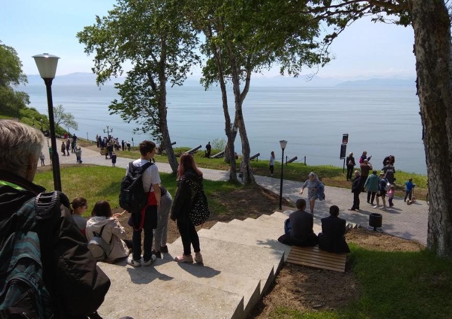 Обновленный парк открылся на Никольской сопке, фото-2