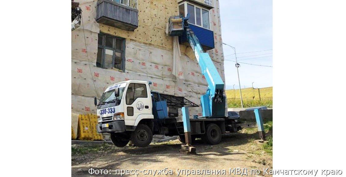 В Петропавловске ищут угнанную автовышку, фото-1